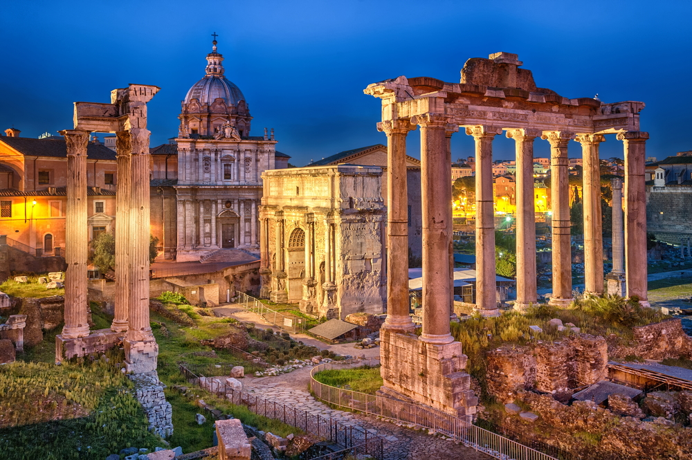 rome walking tour
